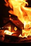 Casa del fuego Imagenes de archivo