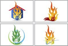 Casa del fuego libre illustration
