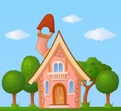 Casa del fumetto Immagini Stock