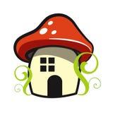 Casa del fungo Fotografie Stock Libere da Diritti