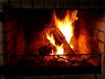 Casa del fuoco Fotografie Stock Libere da Diritti