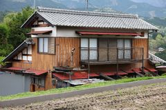 Casa del Giappone Fotografie Stock