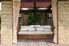 Casa del giardino Fotografia Stock