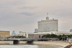 Casa del gobierno en Moscú Federación Rusa imagenes de archivo
