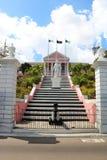 Casa del gobierno en Nassau fotografía de archivo libre de regalías