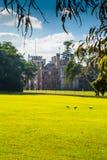 Casa del gobierno y pájaros de Ibis Fotos de archivo