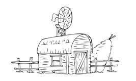 Camera del granaio con il covone della paglia for Casa del granaio cracker
