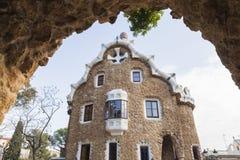 Casa del Guarda, Βαρκελώνη στοκ φωτογραφία