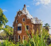 Casa del Guarda στοκ εικόνες
