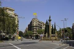 Casa del gufo di Barcellona Immagine Stock