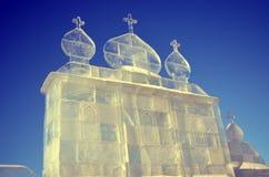 Casa del hielo foto de archivo