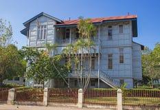 Casa del hierro Foto de archivo libre de regalías