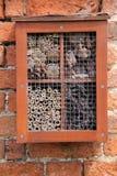 Casa del insecto. Imágenes de archivo libres de regalías