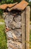Casa del insecto Foto de archivo