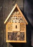Casa del insecto Imagenes de archivo
