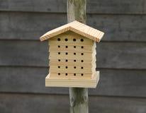 Casa del insecto Imagen de archivo libre de regalías