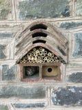 Casa del insecto y de abeja Fotos de archivo