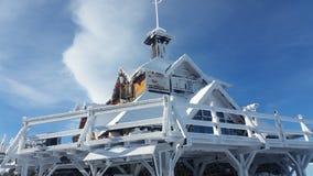 Casa del invierno Fotografía de archivo libre de regalías