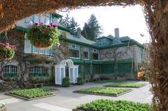 Casa del jardín Foto de archivo libre de regalías