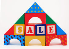 Casa del juguete Imagen de archivo libre de regalías