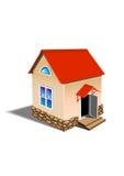 Casa del juguete ilustración del vector