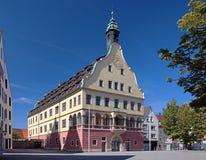 Casa del juramento en Ulm, Alemania Imagen de archivo