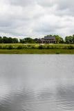 Casa del lago Immagine Stock Libera da Diritti