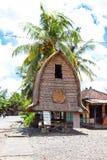 Casa del Lombok tradizionale Fotografia Stock