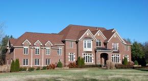 Casa del lusso del mattone Immagini Stock
