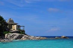Casa del mar Imagen de archivo