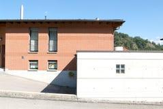 Casa del mattone Fotografia Stock