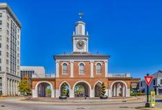 Casa del mercato della Nord Carolina di Fayetteville immagine stock