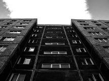 Casa del minimalismo foto de archivo