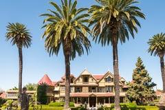 Casa del misterio de Winchester en San Jose imágenes de archivo libres de regalías