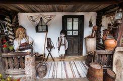 Casa del monumento de Humulesti Imágenes de archivo libres de regalías