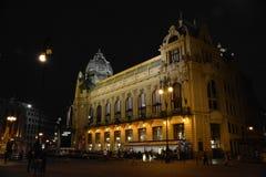Casa del Municipal de Praga Imágenes de archivo libres de regalías