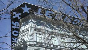 Casa del museo del terror en Budapest, Hungría metrajes
