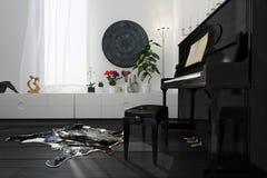 Casa del musicista Fotografia Stock Libera da Diritti