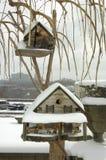 Casa del pájaro Imágenes de archivo libres de regalías