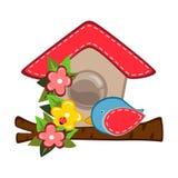Casa del pájaro libre illustration