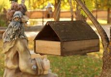 Casa del pájaro (alimentador) Imagen de archivo libre de regalías