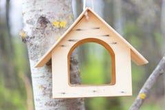 Casa del pájaro en un parque Imagen de archivo