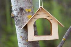 Casa del pájaro en un parque Fotos de archivo