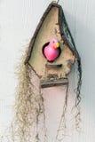 Casa del pájaro para el jardín Fotos de archivo libres de regalías