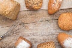 Casa del pane fatta Fotografie Stock Libere da Diritti