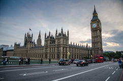 Casa del parlamento en Londres Fotos de archivo libres de regalías