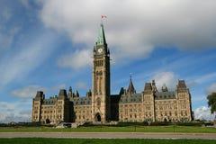 Casa del parlamento Ottawa Fotografía de archivo