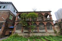 Casa del pastor de la iglesia del houxi Imagen de archivo