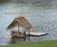 Casa del pato Foto de archivo libre de regalías