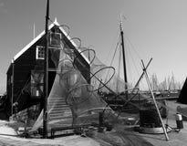 Casa del pescador, Holanda Septentrional imágenes de archivo libres de regalías